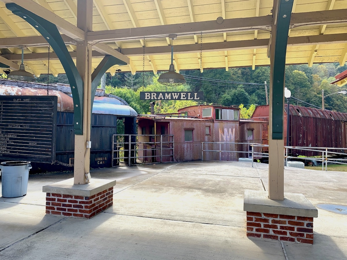 Bramwell Train Depot