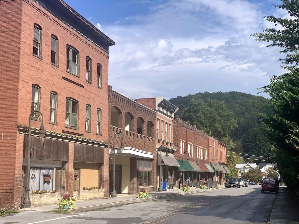 Photo of Main Street in Bramwell WV